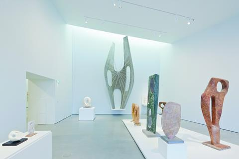 The Hepworth Family Gift, complete with 6m-tall aluminium prototype of the Winged Figure.